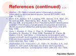 references continued49