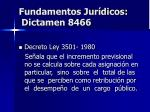 fundamentos jur dicos dictamen 8466