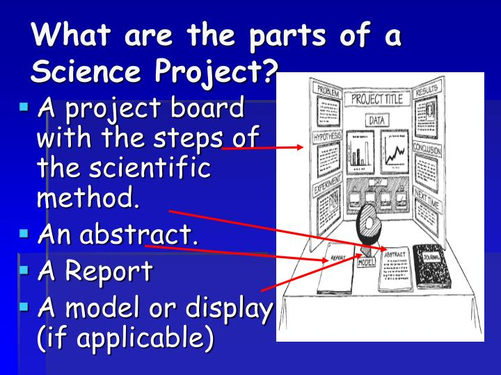 parts of a science project 3 parts of a science fair project - download as word doc (doc), pdf file (pdf), text file (txt) or read online.