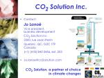 co 2 solution inc