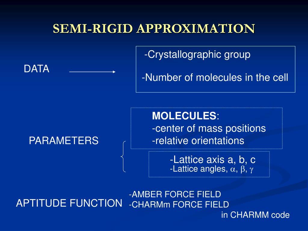 SEMI-RIGID APPROXIMATION