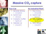 massive co 2 capture