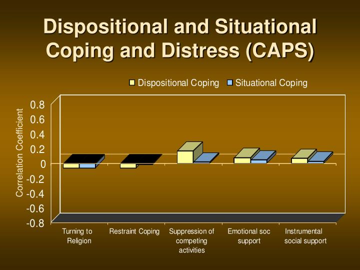 Dispositional and Situational Coping and Distress (CAPS)