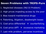 seven problems with trips pure33