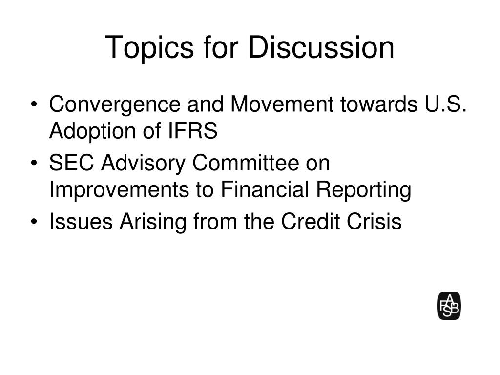 topics for discussion l.