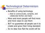 technological determinism3