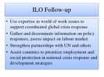 ilo follow up