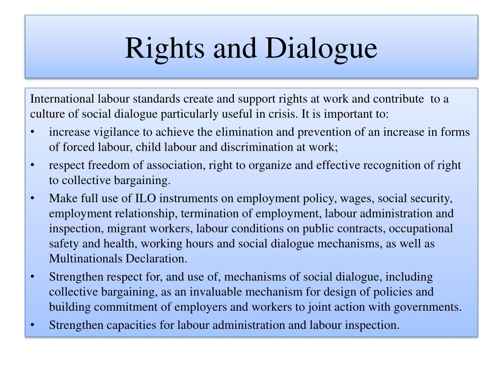 Rights and Dialogue