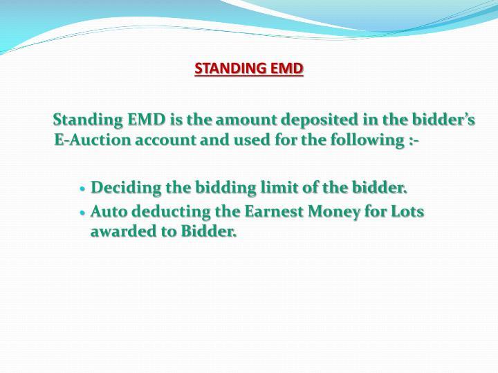 STANDING EMD
