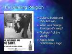 the drinking religion