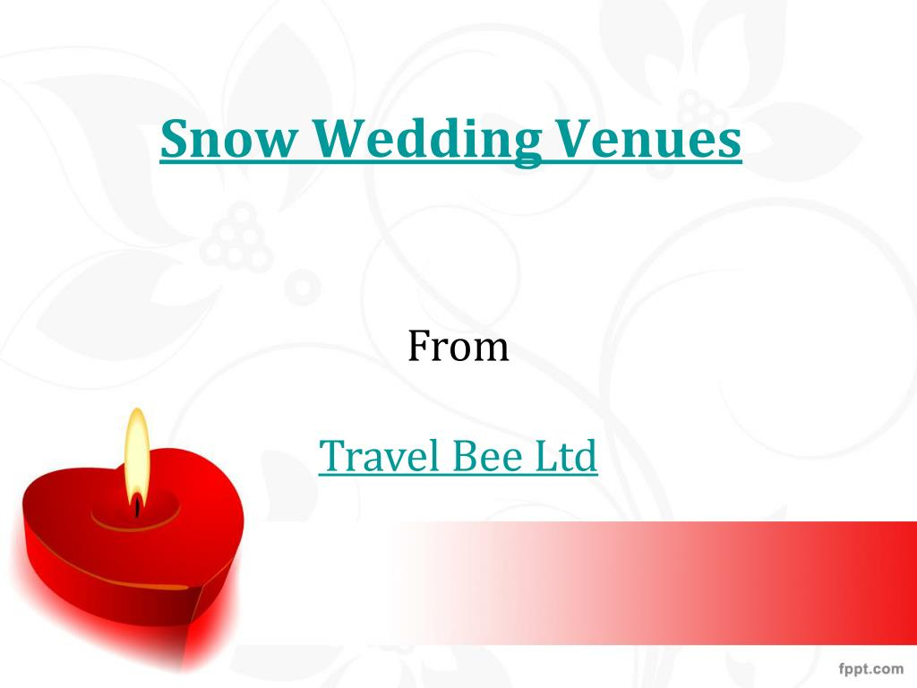 snow wedding venues l.