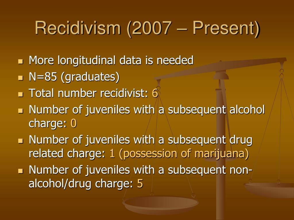 Recidivism (2007 – Present)