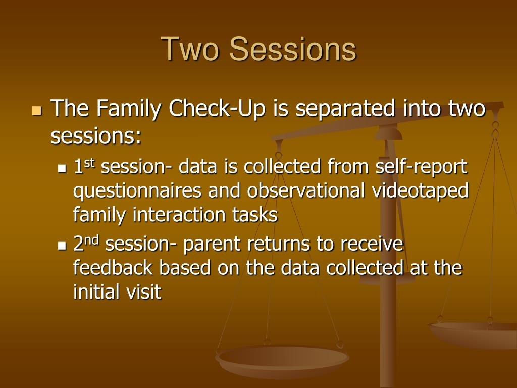 Two Sessions