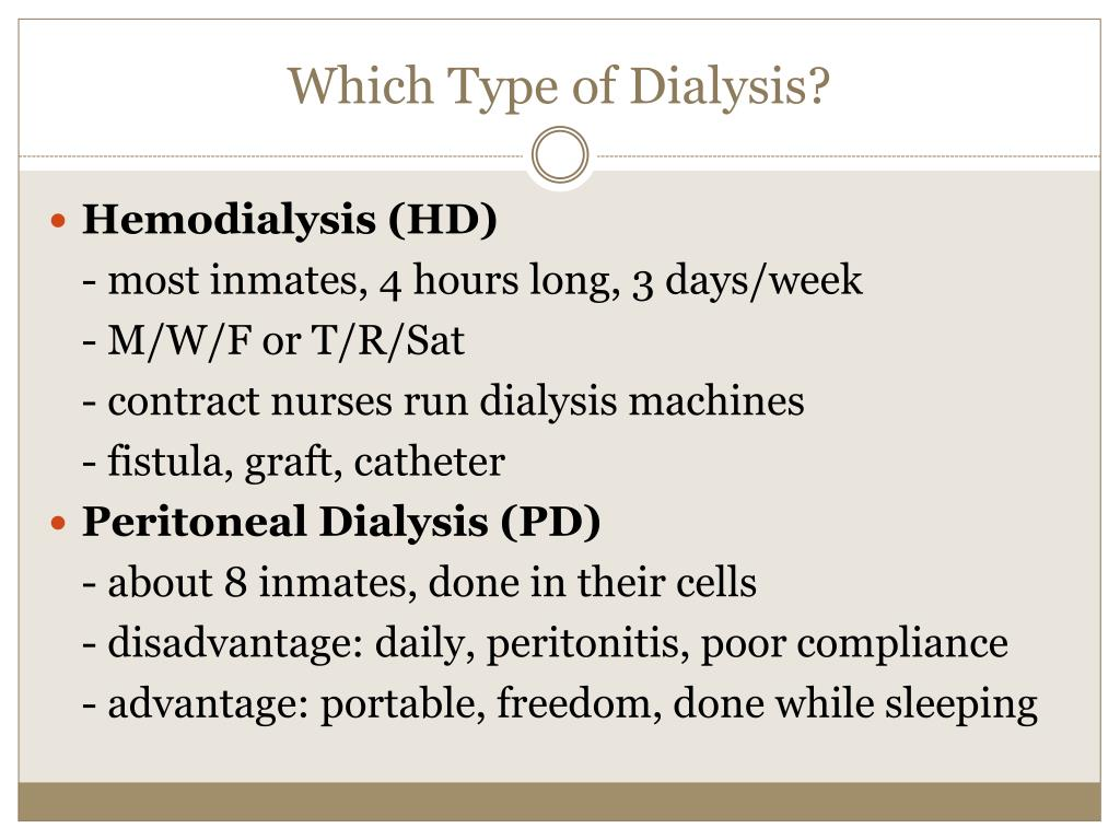 Which Type of Dialysis?