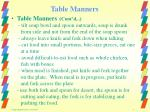 table manners9