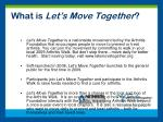 what is let s move together