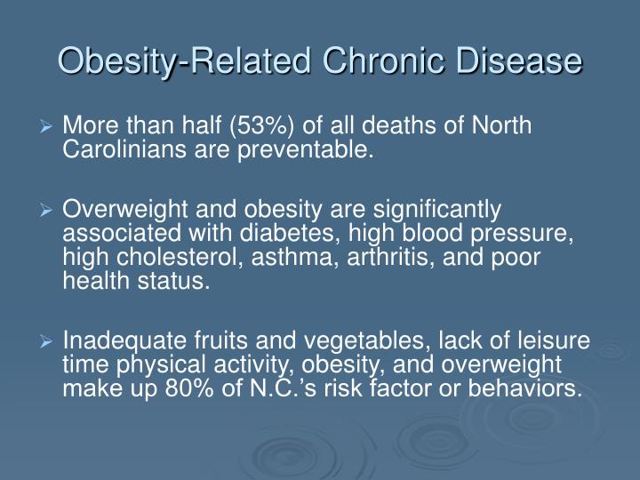 Obesity related chronic disease