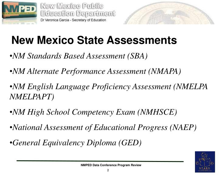 New mexico state assessments