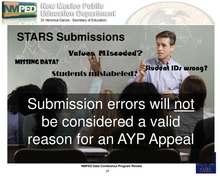 STARS Submissions