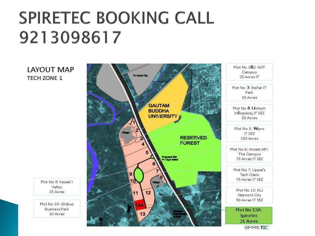 SPIRETEC BOOKING CALL