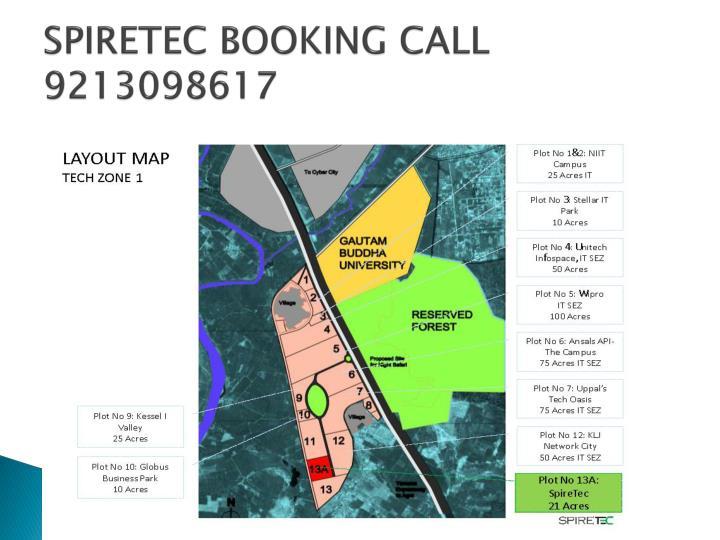 Spiretec booking call 92130986173