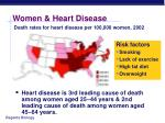 women heart disease