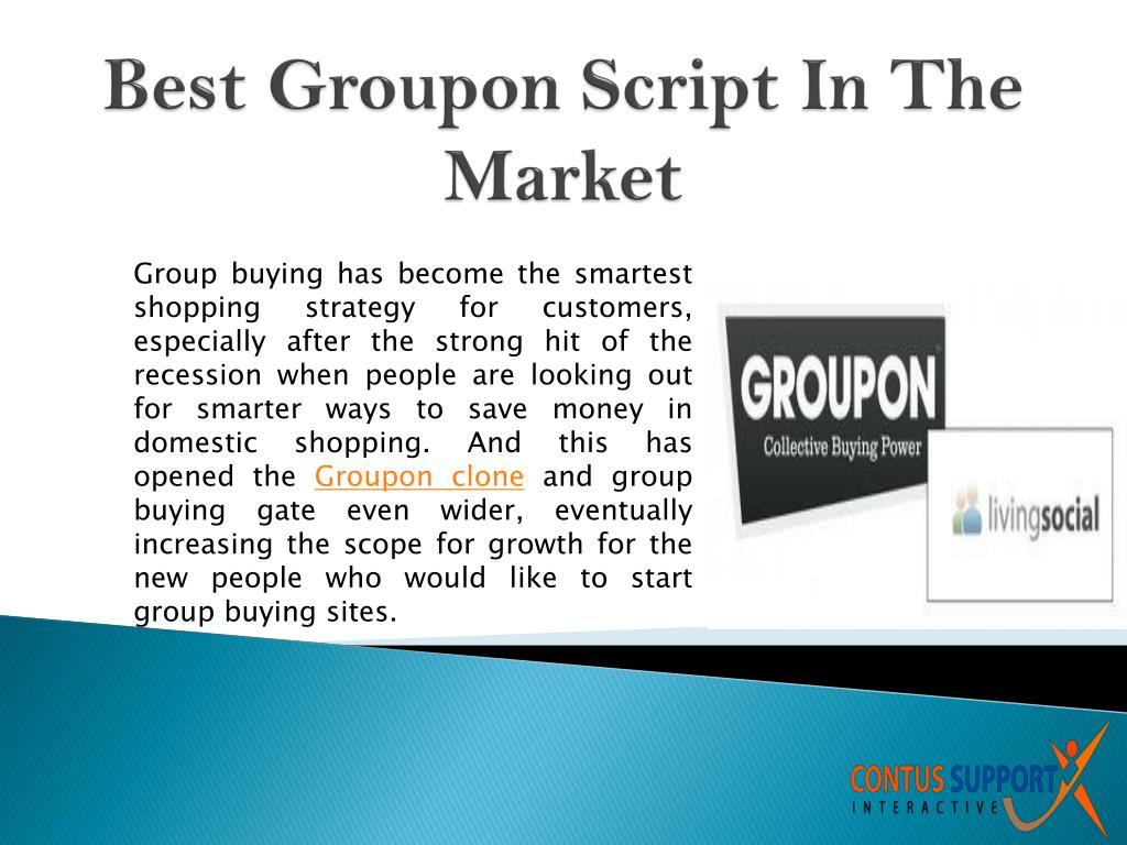 best groupon script in the market l.