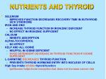 nutrients and thyroid