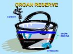 organ reserve