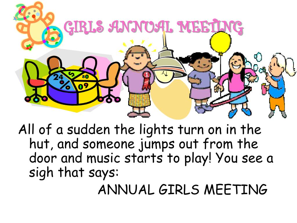 GIRLS ANNUAL MEETING