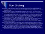 elder groberg
