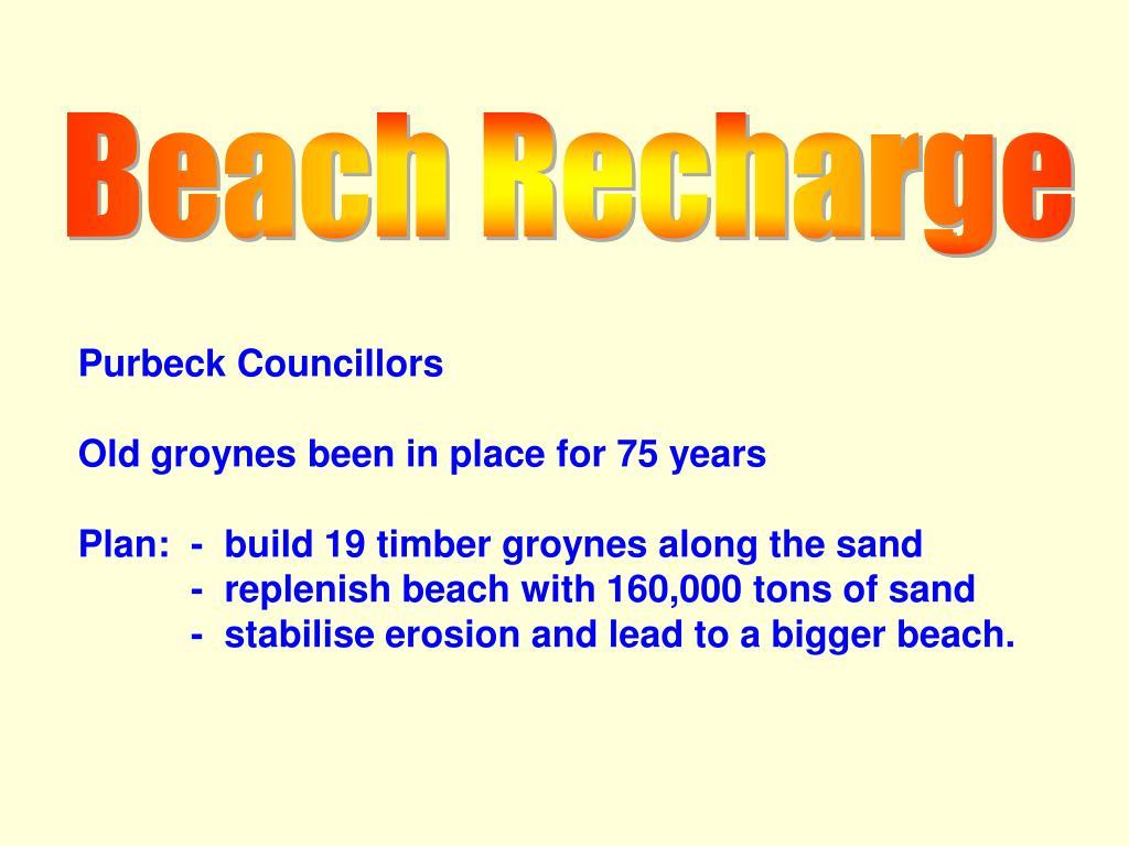 Beach Recharge
