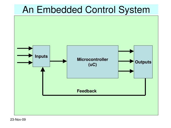 An Embedded Control System