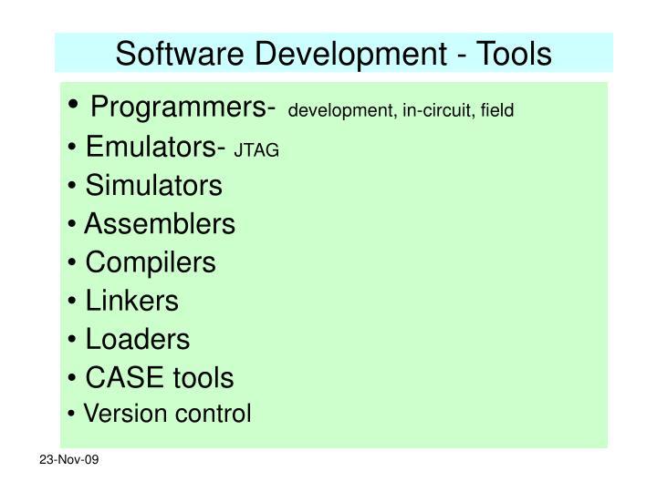 Software Development - Tools