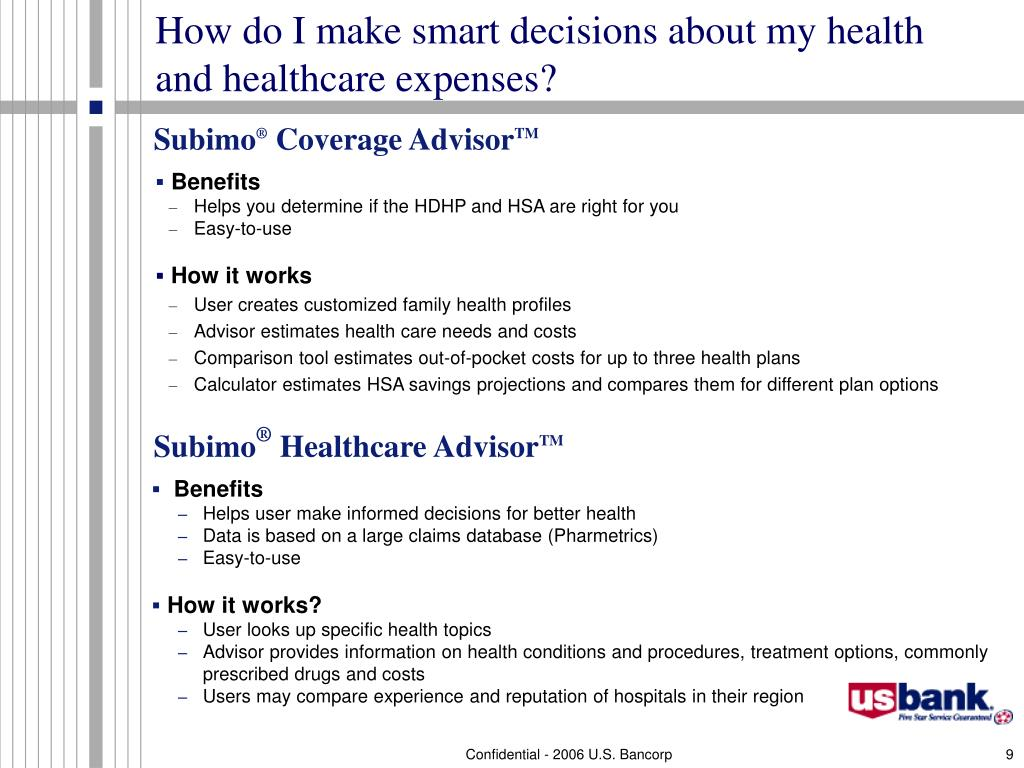 How do I make smart decisions about my health and healthcare expenses?