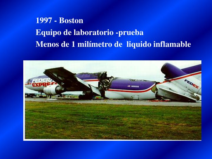 1997 - Boston