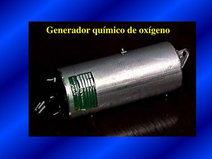 Generador químico de oxígeno