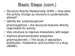 basic steps cont