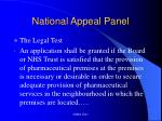 national appeal panel13