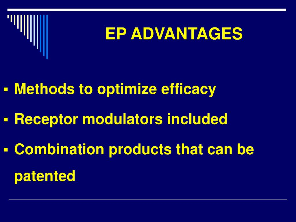 EP ADVANTAGES