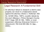 legal research a fundamental skill3