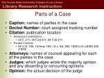 parts of a case