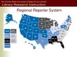 regional reporter system
