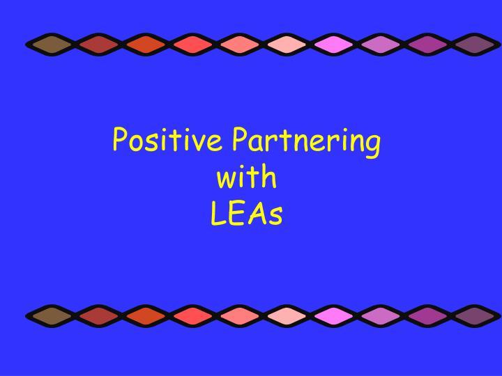 Positive Partnering