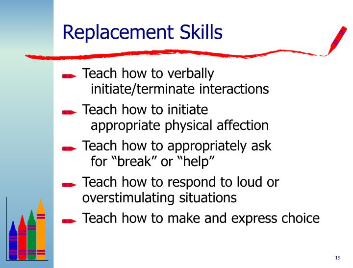 Replacement Skills