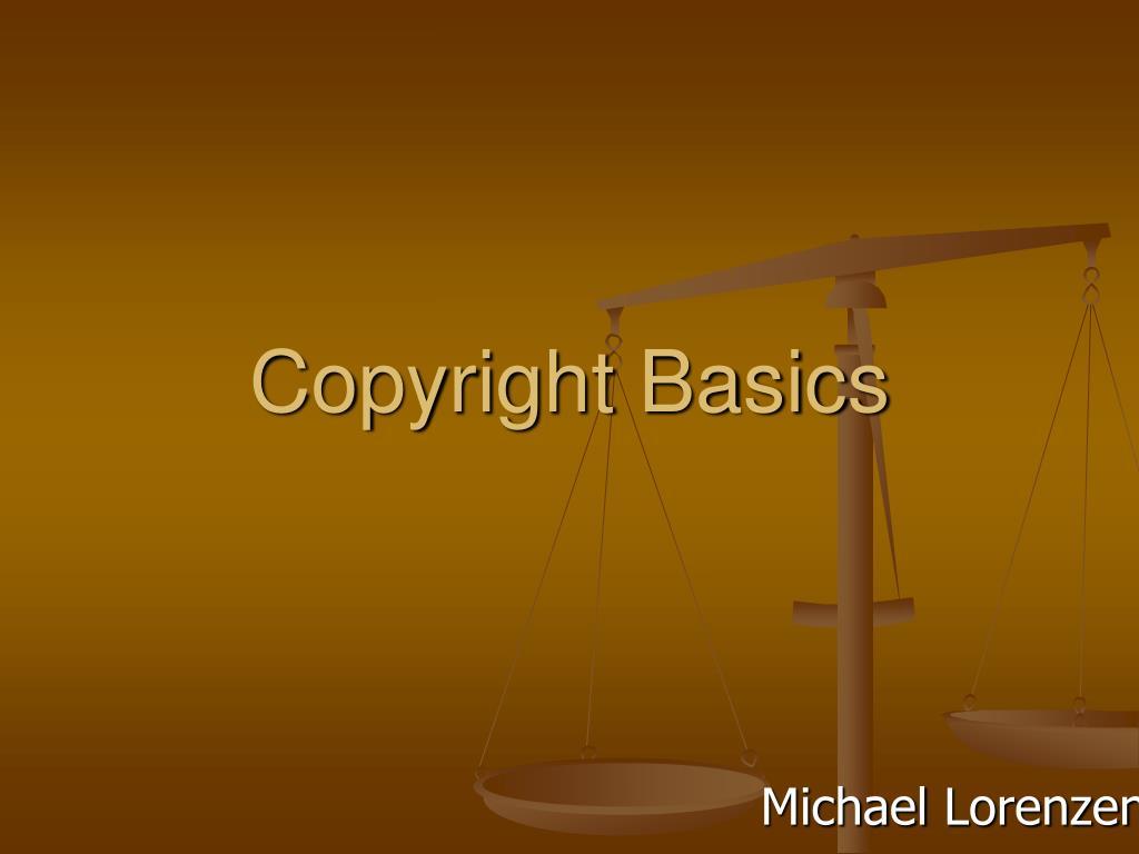 copyright basics l.