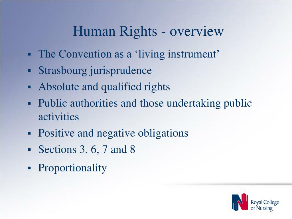 Human Rights - overview