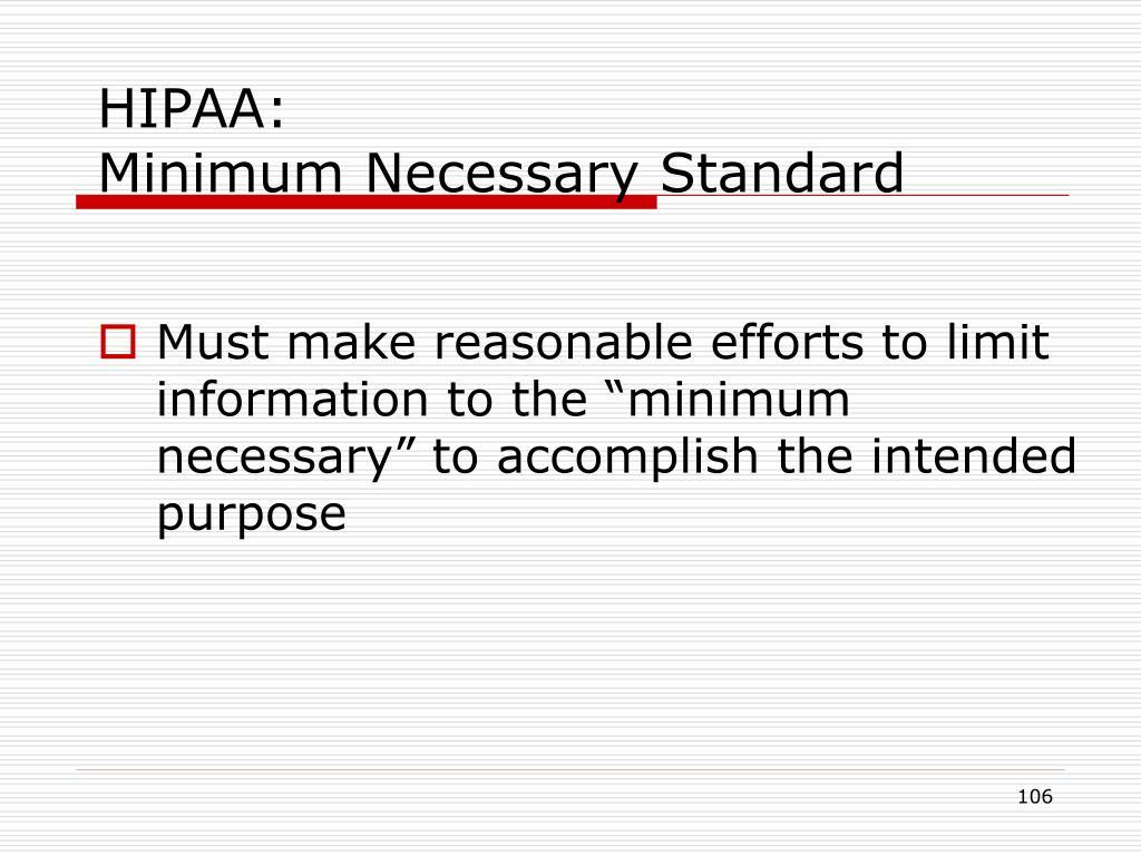 HIPAA: