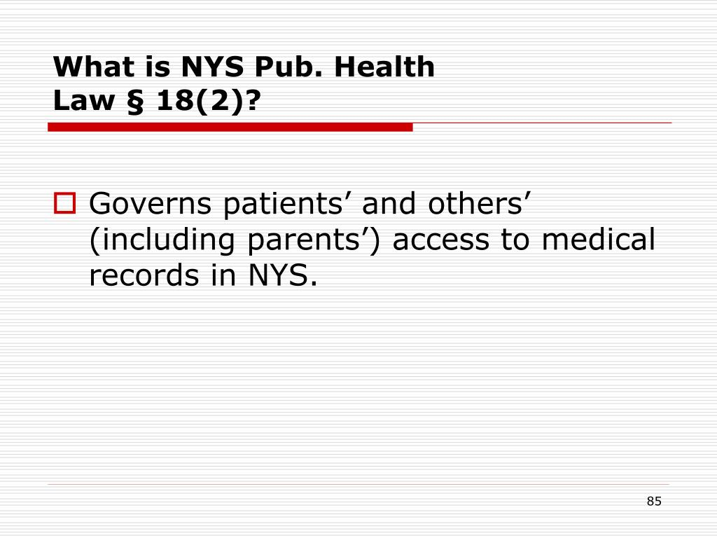 What is NYS Pub. Health