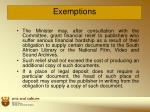exemptions9